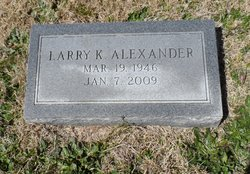 Larry Keith Alexander