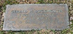 Gerald Hester Duckworth
