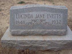 Lucinda J <i>Alcorn</i> Evetts