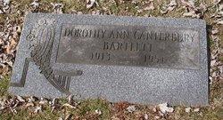 Dorothy Ann <i>Canterbury</i> Bartlett