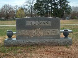 Aloysius Garrett Beckman