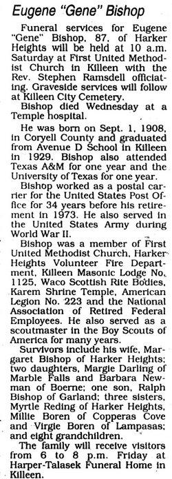Eugene Horace Bishop