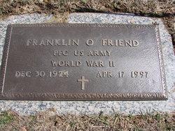 Franklin O Friend