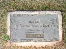Pauline <i>Abbott</i> Moss