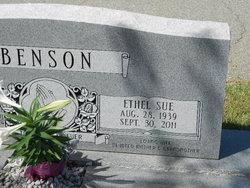 Ethel Sue <i>Clements</i> Benson