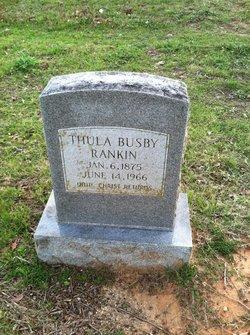 Thula <i>Busby</i> Rankin