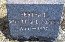 Bertha Florence <i>Lynn</i> Porter