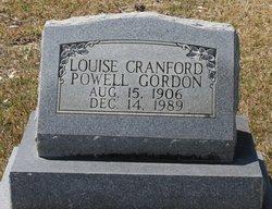 Louise <i>Cranford</i> Gordon