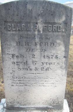 Clara R Ford
