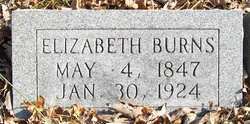 Elizabeth Angeline <i>Wylie</i> Burns