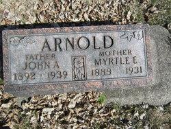 Myrtle Estella <i>Burrier</i> Arnold