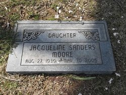 Jacqueline <i>Sanders</i> Moore