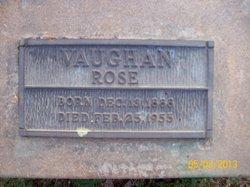 Rose Vaughan