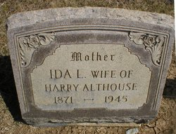 Ida L <i>Tout</i> Althouse