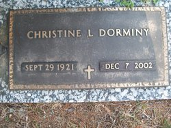 Mattie Christine Chris <i>Little</i> Dorminy