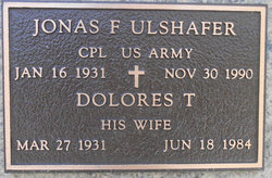 Dolores T Ulshafer