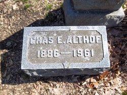 Charles Edward Althof