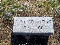 Elizabeth Althof