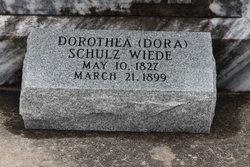 Dorothea Dora <i>Schulz</i> Wiede