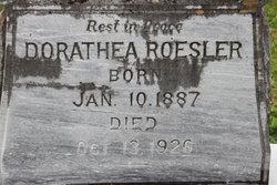 Dorathea Maria Wilhelmine Dora Roesler