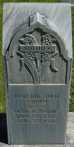 Armenia Julia <i>Parry</i> Adams