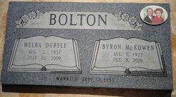 Melba <i>Durfee</i> Bolton