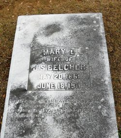 Mary L. <i>Sims</i> Belcher