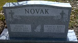 Frances Ethel <i>Bates</i> Novak
