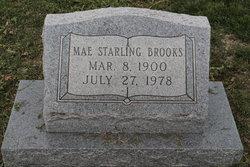 Mae Fannie <i>Starling</i> Brooks