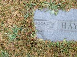 Robert Scott Bob Haynes