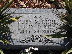 Ruby Mae <i>Kennison</i> Roof
