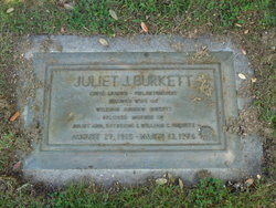 Juliet Ruth <i>Johnson</i> Burkett
