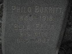 Ella <i>Ellis</i> Burritt