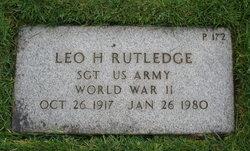 Leo Harold Rutledge