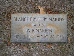 Blanche <i>Moody</i> Marion
