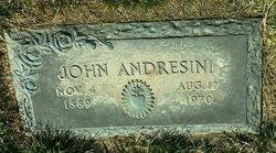 Giovanni John John the Iceman Andresini