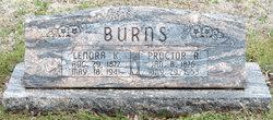 Proctor Reuben Burns