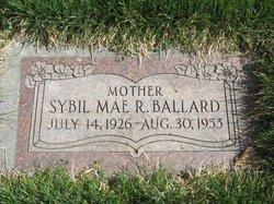 Sybil Mae <i>Reeves</i> Ballard