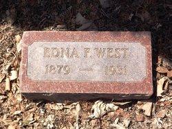 Edna F. <i>Wilbur</i> West