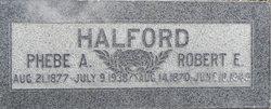 Phebe A <i>Adcock</i> Halford
