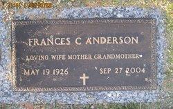 Frances Collins Anderson