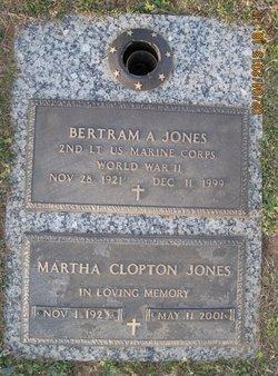 Bertram A. Jones