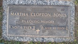 Martha Clopton Jones