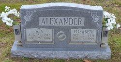 W. A. Buck Alexander