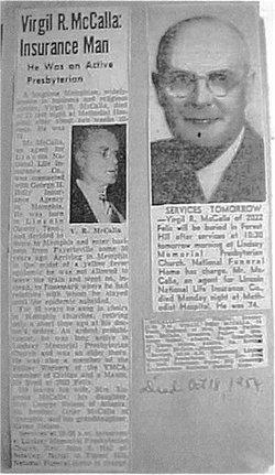 Virgil Reid McCalla