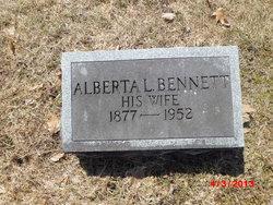 Alberta L <i>Bennett</i> Bedell