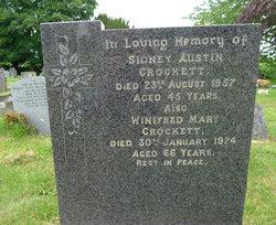 Winifred Mary <i>Jones</i> Crockett