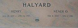 Henry Halyard