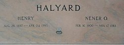 Nener O. Halyard