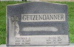 Thomas J. Getzendanner